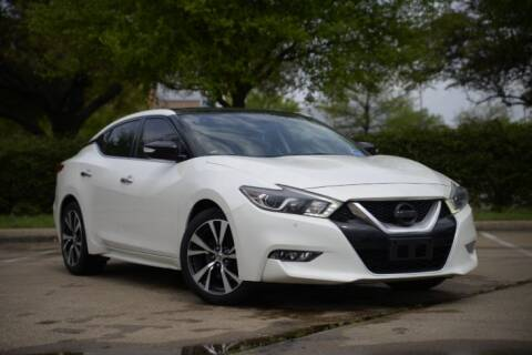 2016 Nissan Maxima for sale at Legacy Autos in Dallas TX