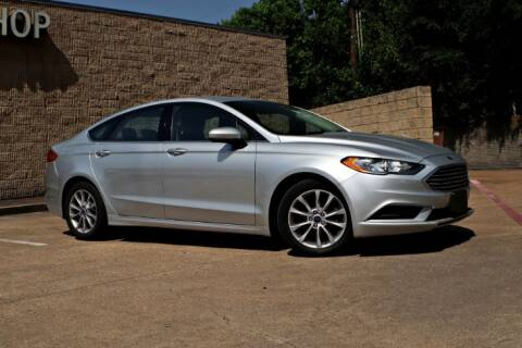 2017 Ford Fusion for sale at Legacy Autos in Dallas TX