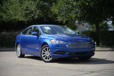 2017 Ford Fusion Hybrid for sale at Legacy Autos in Dallas TX