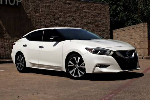 2017 Nissan Maxima for sale at Legacy Autos in Dallas TX