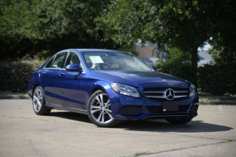 2017 Mercedes-Benz C-Class for sale at Legacy Autos in Dallas TX