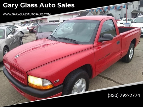 1999 Dodge Dakota for sale at Gary Glass Auto Sales in Youngstown OH
