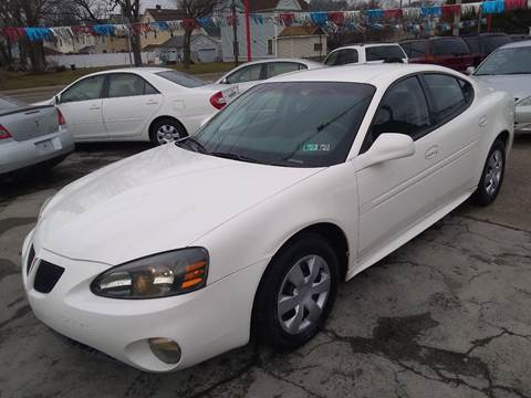 2004 Pontiac Grand Prix GT1 for sale at Gary Glass Auto Sales in Youngstown OH