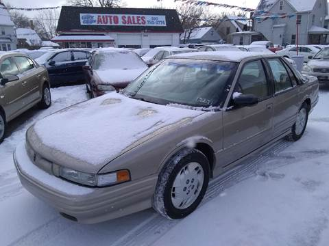 1997 Oldsmobile Cutlass Supreme SL for sale at Gary Glass Auto Sales in Youngstown OH