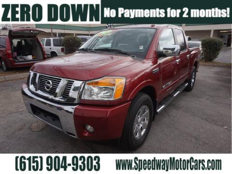 Nissan Of Murfreesboro >> Nissan Titan For Sale In Murfreesboro Tn Speedway Motors