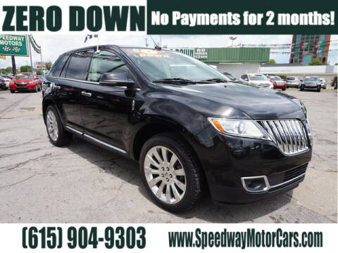 2014 Lincoln MKX for sale at Speedway Motors in Murfreesboro TN