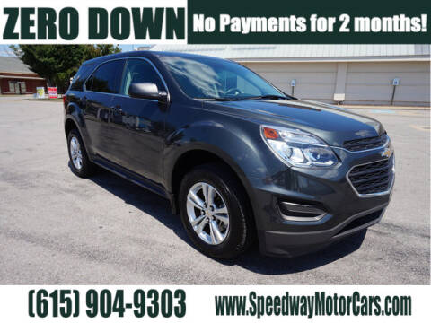 2017 Chevrolet Equinox for sale at Speedway Motors in Murfreesboro TN