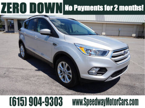 2018 Ford Escape for sale at Speedway Motors in Murfreesboro TN