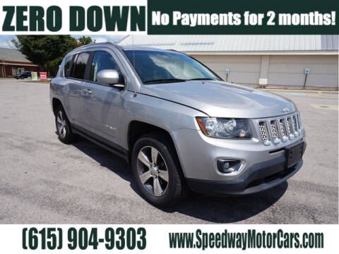 2016 Jeep Compass for sale at Speedway Motors in Murfreesboro TN