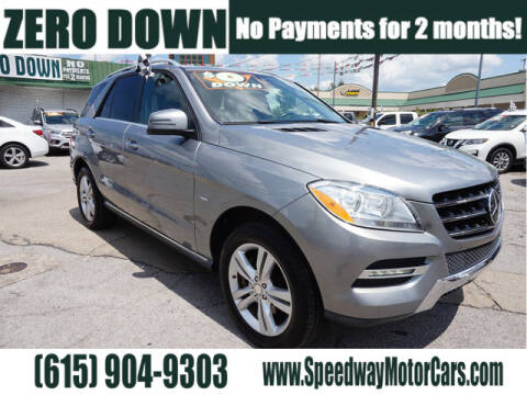 2012 Mercedes-Benz M-Class for sale at Speedway Motors in Murfreesboro TN