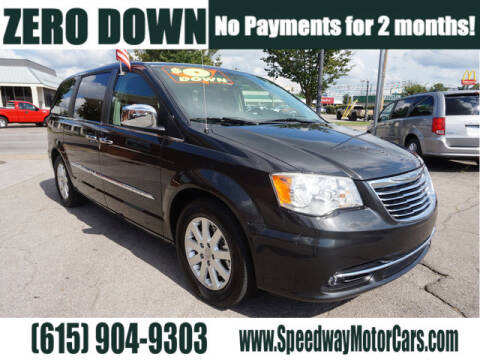 2012 Chrysler Town and Country for sale at Speedway Motors in Murfreesboro TN