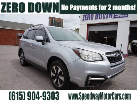 2017 Subaru Forester for sale at Speedway Motors in Murfreesboro TN
