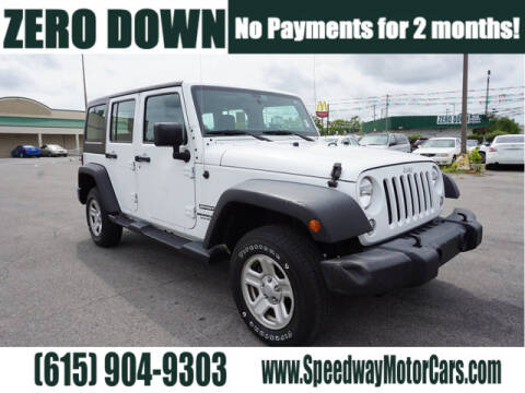 2017 Jeep Wrangler Unlimited for sale at Speedway Motors in Murfreesboro TN