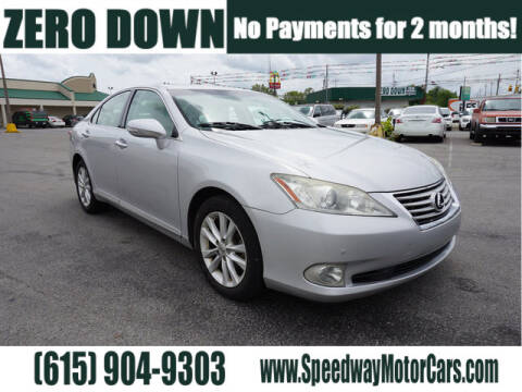 2012 Lexus ES 350 for sale at Speedway Motors in Murfreesboro TN