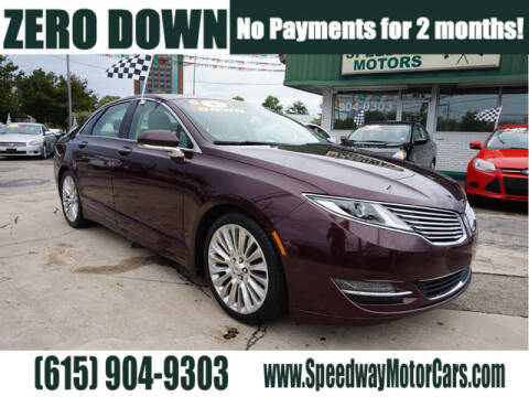 2013 Lincoln MKZ for sale at Speedway Motors in Murfreesboro TN