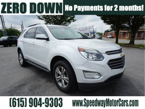 2016 Chevrolet Equinox for sale at Speedway Motors in Murfreesboro TN
