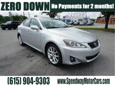 2012 Lexus IS 250 for sale at Speedway Motors in Murfreesboro TN