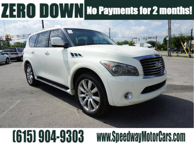 2012 Infiniti QX56 for sale at Speedway Motors in Murfreesboro TN