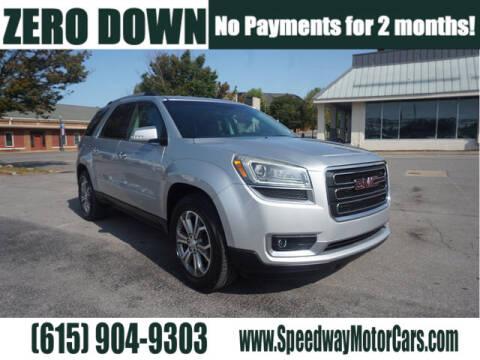 2014 GMC Acadia for sale at Speedway Motors in Murfreesboro TN