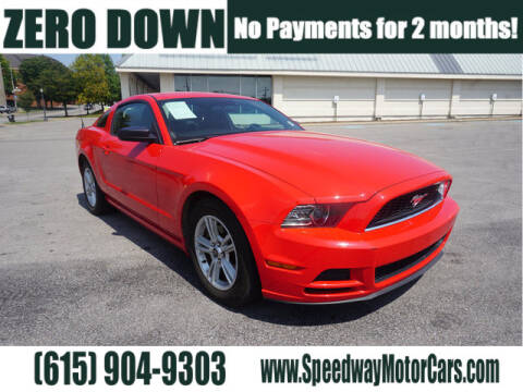 2014 Ford Mustang for sale at Speedway Motors in Murfreesboro TN