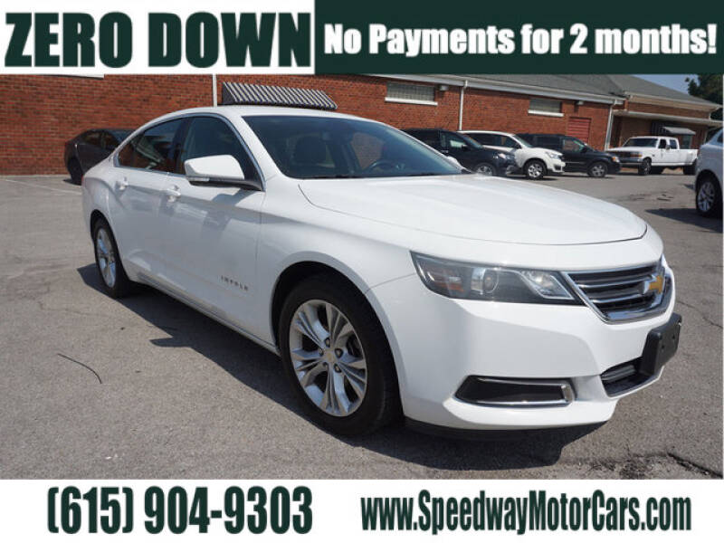 2015 Chevrolet Impala for sale at Speedway Motors in Murfreesboro TN