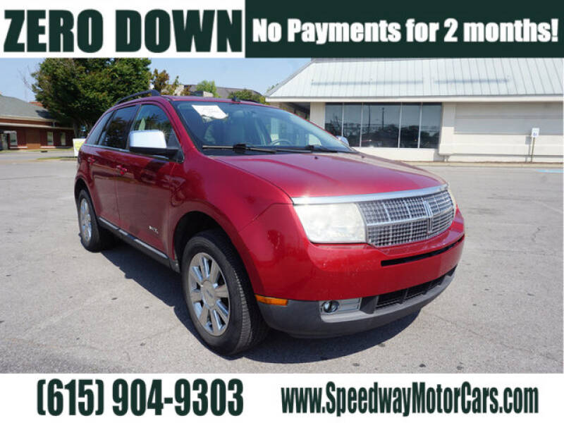 2007 Lincoln MKX for sale at Speedway Motors in Murfreesboro TN