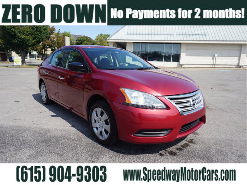 2015 Nissan Sentra for sale at Speedway Motors in Murfreesboro TN