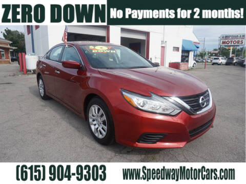 2016 Nissan Altima for sale at Speedway Motors in Murfreesboro TN
