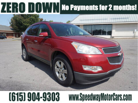 2012 Chevrolet Traverse for sale at Speedway Motors in Murfreesboro TN
