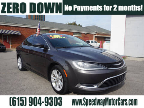 2016 Chrysler 200 for sale at Speedway Motors in Murfreesboro TN