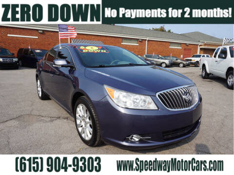 2013 Buick LaCrosse for sale at Speedway Motors in Murfreesboro TN