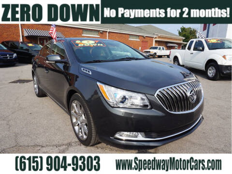 2014 Buick LaCrosse for sale at Speedway Motors in Murfreesboro TN