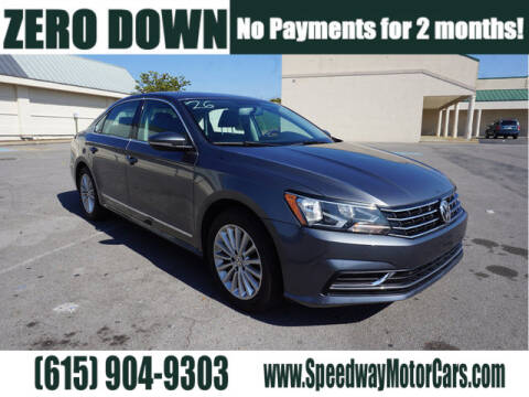 2016 Volkswagen Passat for sale at Speedway Motors in Murfreesboro TN