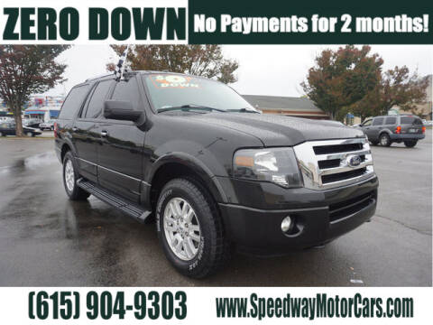 2012 Ford Expedition for sale at Speedway Motors in Murfreesboro TN