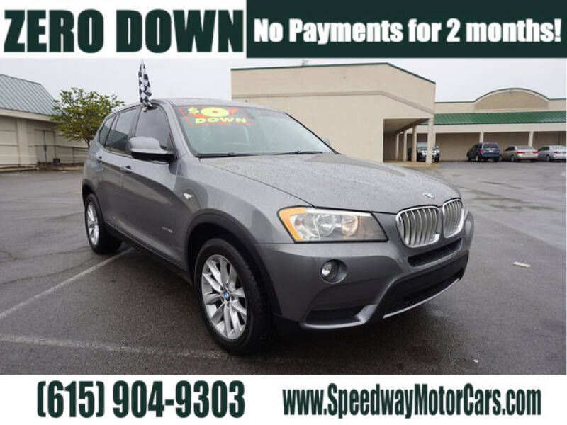 2014 BMW X3 for sale at Speedway Motors in Murfreesboro TN