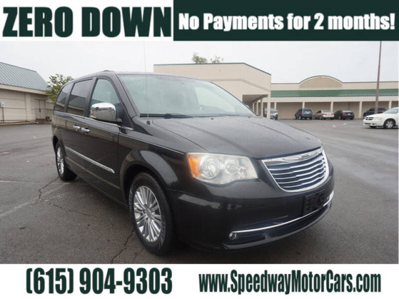 2013 Chrysler Town and Country for sale at Speedway Motors in Murfreesboro TN