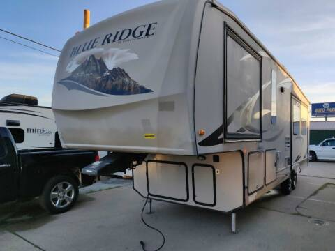 2012 Forest River BLUE RIDGE 3125 for sale at Texas RV Trader in Cresson TX