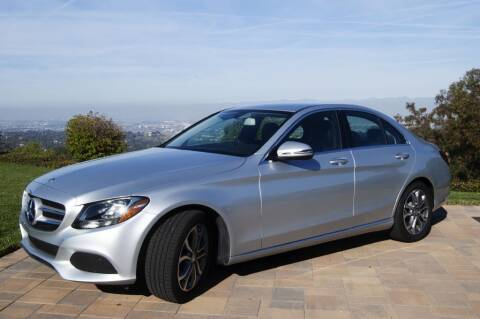 2016 Mercedes-Benz C-Class for sale at Auto Whiz in Rancho Palos Verdes CA