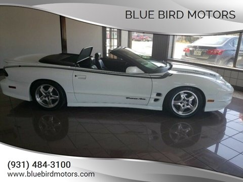 2002 Pontiac Firebird for sale in Crossville, TN