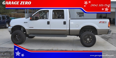 2003 Ford F-250 Super Duty Lariat for sale at GARAGE ZERO in Jacksonville FL