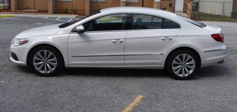 2010 Volkswagen CC Sport for sale at GARAGE ZERO in Jacksonville FL