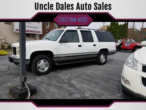 1999 GMC Suburban for sale in Lebanon, PA