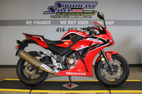 2017 Honda CBR300R for sale at Southeast Sales Powersports in Milwaukee WI