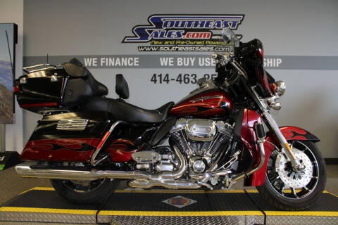 2011 Harley-Davidson® FLHTCUSE6 - CVO™ Ultra C for sale at Southeast Sales Powersports in Milwaukee WI