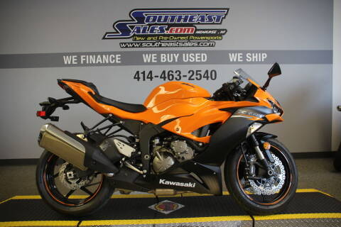 2020 Kawasaki Ninja ZX-6R for sale at Southeast Sales Powersports in Milwaukee WI