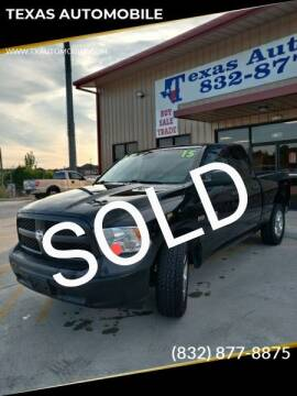 2015 RAM Ram Pickup 1500 for sale at TEXAS AUTOMOBILE in Houston TX
