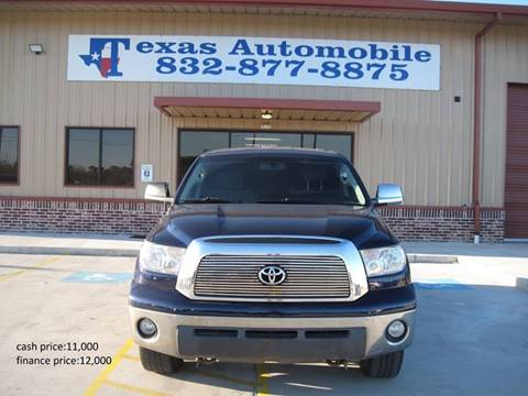 2008 Toyota Tundra for sale at TEXAS AUTOMOBILE in Houston TX