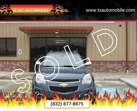 2011 Chevrolet Equinox for sale at TEXAS AUTOMOBILE in Houston TX