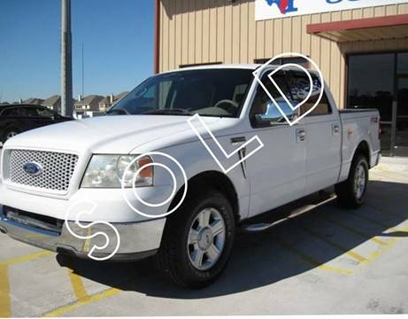 2004 Ford F-150 for sale at TEXAS AUTOMOBILE in Houston TX