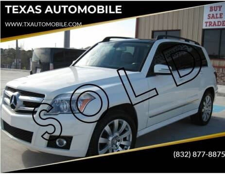 2011 Mercedes-Benz GLK for sale at TEXAS AUTOMOBILE in Houston TX